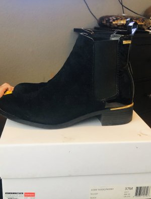 Calvin Klein Slip-on Booties black
