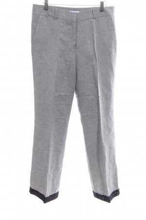 Calvin Klein Jersey Pants light grey-black flecked casual look