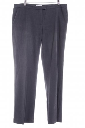 Calvin Klein Pantalon en jersey gris foncé style d'affaires