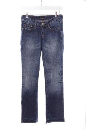 Calvin Klein Straight-Leg Jeans blau-dunkelblau
