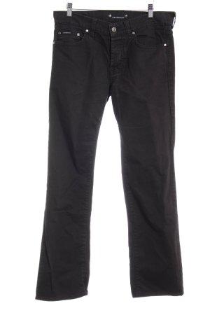 Calvin Klein Straight-Leg Jeans schwarz Casual-Look