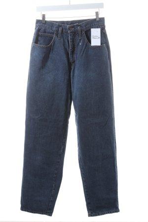 Calvin Klein Straight-Leg Jeans stahlblau Casual-Look