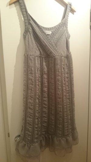 Calvin Klein super schickes Kleid in hellem Grauton, sehr edel
