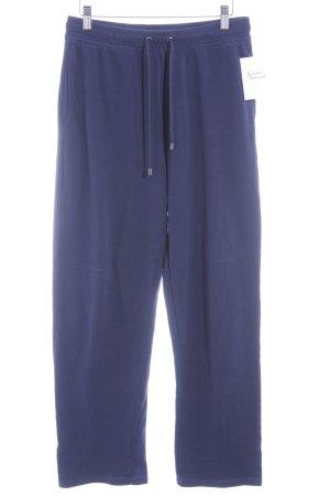 Calvin Klein Pantalon de jogging bleu foncé style décontracté