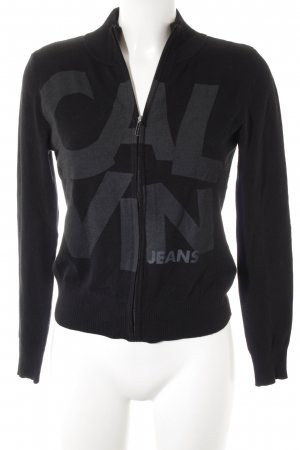 Calvin Klein Sweatjacke schwarz Casual-Look
