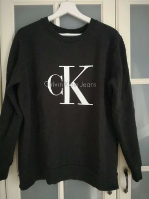 Calvin Klein Sweatshirt Gr. M schwarz