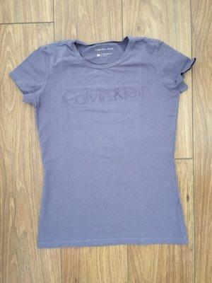 Calvin Klein Camiseta violeta grisáceo-gris pizarra