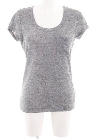 Calvin Klein Camiseta gris claro moteado look casual