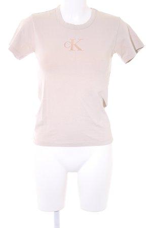 Calvin Klein T-Shirt beige sportlicher Stil