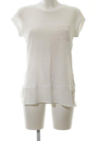 Calvin Klein T-Shirt wollweiß Casual-Look