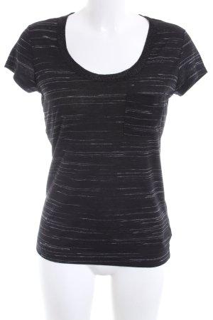 Calvin Klein T-Shirt black-white flecked casual look