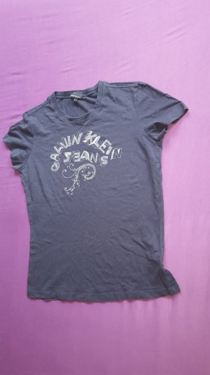 Calvin Klein T-Shirt (Gr. L, schwarz)