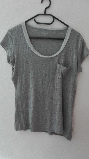 Calvin Klein T-Shirt grau silber Basic S 36