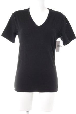 Calvin Klein T-Shirt schwarz Casual-Look