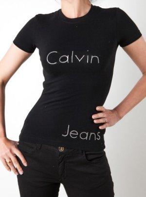 Calvin Klein T-Shirt schwarz (Gr. XS, S, L)