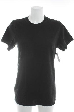 Calvin Klein T-Shirt schwarz schlichter Stil