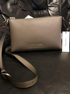 Calvin Klein Crossbody bag grey brown