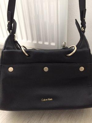 Calvin Klein Crossbody bag black-gold-colored
