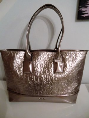 Calvin Klein Tasche/shopper in metallic/lila