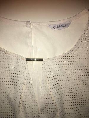 Calvin Klein Mouwloze blouse wit