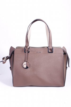 "Calvin Klein Tote ""Sofie Large Duffle 2 Taupe/Driftwood"""