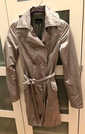 Calvin Klein Trenchcoat Silber