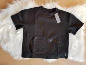 Calvin Klein Tshirt Shirt Hemd Top S schwarz