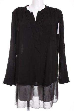 Calvin Klein Tunikabluse schwarz klassischer Stil