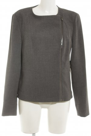 Calvin Klein Blazer in tweed grigio stile professionale