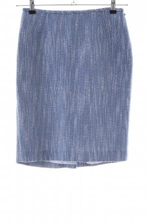 Calvin Klein Tweed rok blauw-wit gestippeld casual uitstraling