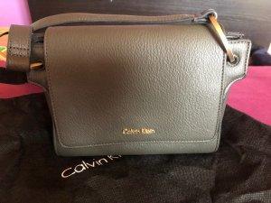 Calvin Klein Borsa a spalla ocra-cachi