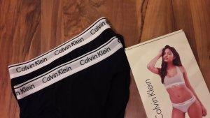 Calvin Klein Set lingerie bianco-nero