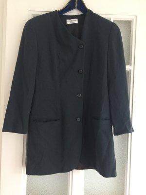 Calvin Klein Vintage Blazer lang dunkelgrün asymmetrisch M, 38 Premium