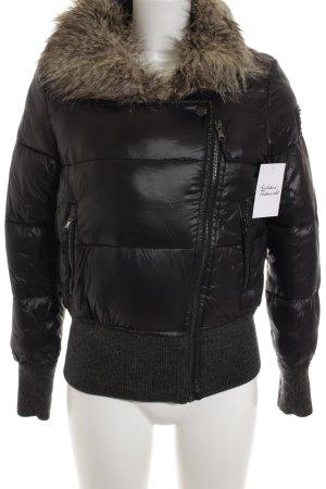 Calvin Klein Winterjacke schwarz Casual-Look