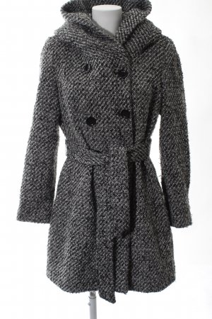 Calvin Klein Wool Coat black-white allover print casual look