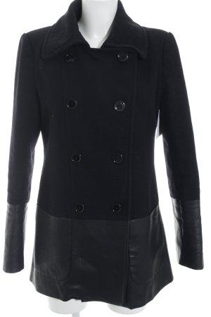 Calvin Klein Wollmantel schwarz Elegant