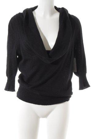Calvin Klein Jersey de lana negro elegante