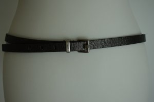 Calvin Klein Belt grey-black synthetic material