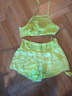 Calzedonia Bikini neon yellow
