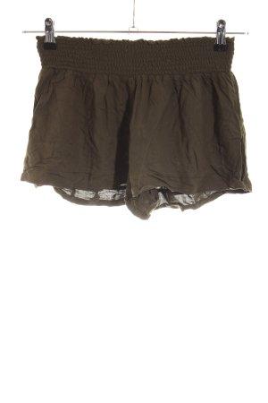 Calzedonia Hot Pants khaki casual look