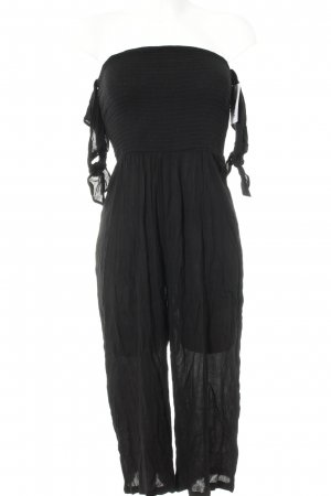 Calzedonia Jumpsuit schwarz Beach-Look