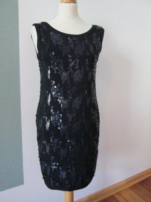 Calzedonia Kleid mit Pailletten Clubdress Gr. M