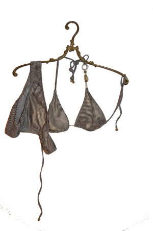 Calzedonia Triangel Bikini gestreift (S -> Gr. 36)