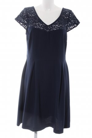 Camaieu Corsage Dress blue business style