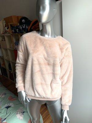 Camaieu Knitted Sweater cream-rose-gold-coloured