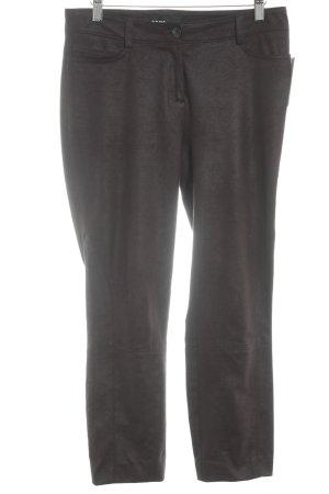 Cambio Pantalon 7/8 brun foncé style décontracté