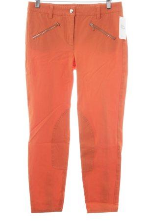 Cambio 7/8-broek oranje casual uitstraling