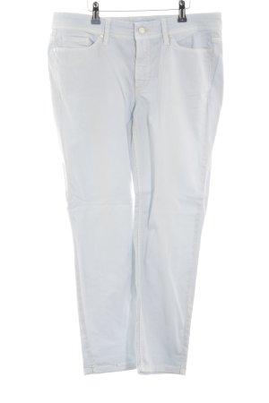 Cambio 7/8 Jeans blau-weiß Casual-Look