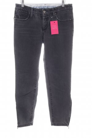 Cambio 7/8-jeans zwart casual uitstraling