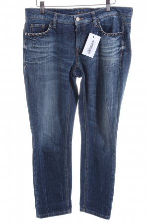 Cambio 7/8 Jeans blau Used-Optik